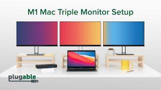 Add Three Extra Monitors to an Apple M1 Mac