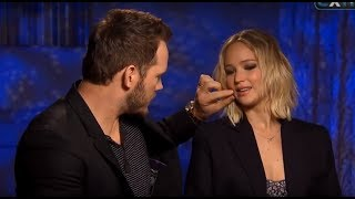 Download Youtube: Chris Pratt Can't Stop Flirting With Jennifer Lawrence