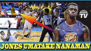 Terrence JONES NAINIS nanaman! PinaTUMBA at PinaGULONG si Carl Bryan Cruz | Tambak ang TNT