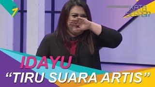 Bakat Terpendam   Idayu tiru suara artis Malaysia   Kata Serasi?