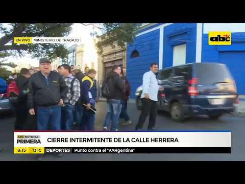 Cierre intermitente de la calle Herrera