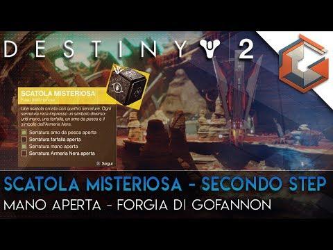 Destiny 2 | Quest Esotica Segreta | Scatola Misteriosa Seconda Parte | Mano Aperta Forgia Gofannon