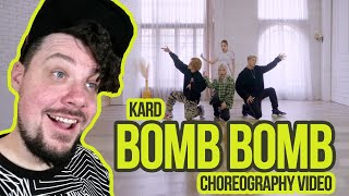 Mikey Reacts To KARD   [밤밤(Bomb Bomb)] Choreography Video
