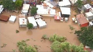 Dozens die in heavy flooding in South Africa