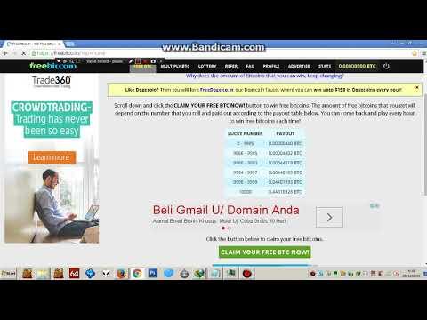 Video How to Register on freebitco.in / Bagaimana Cara mendaftar di freebitco.in