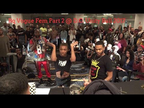 Bq Vogue Fem Part 2 @ D.C. Unity Ball 2017