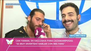 Can Yaman always acknowledge Demet Ozdemir in english | Cannes france