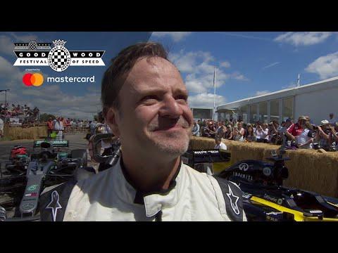 Rubens Barichello talks F1, Brawn and Festival of Speed