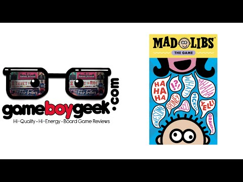 The Game Boy Geek Reviews Mad Libs: The Game
