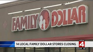 14 local Family Dollar stores closing