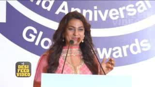 Juhi Chawla at Priyadarshini Academy's 32nd Anniversary Global Awards 2016