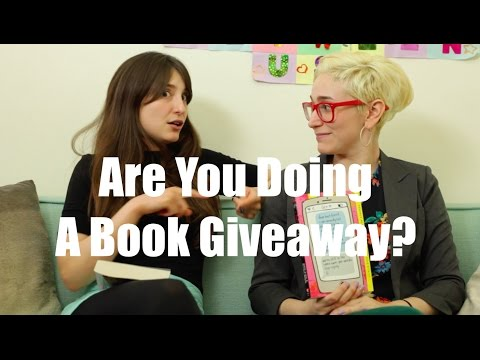 Are You Doing A Book Giveaway? / Gaby & Allison
