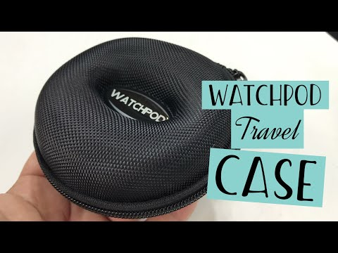Single Watch Cushioned Travel Hard Case by Watchpod Review