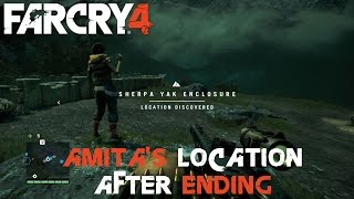 FAR CRY 4 - HOW TO FIND AMITA AFTER THE ENDING ONLY IF SIDED WITH SABAL