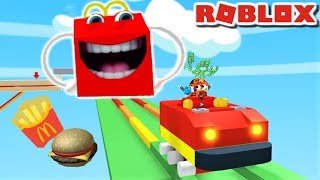 *NEW* 🍟ESCAPE MCDONALDS OBBY!! | The Weird Side of Roblox
