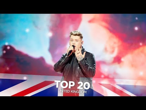 United Kingdom in Eurovision - My Top 20 (2000-2019)
