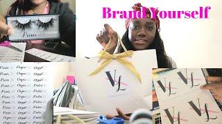 Entrepreneur Episode 3: Package Unboxing, Branding, DIY Logo Stickers