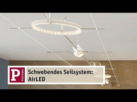 AirLED - das schwebende LED Seilsystem