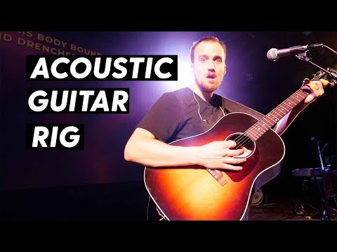 Acoustic Guitar Setup for Worship Leaders
