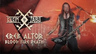 "EREB ALTOR – ""Blood Fire Death"" live at KILKIM ŽAIBU 17"