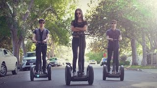 Justin Timberlake Medley! Victoria Justice & Max | ONE TAKE on SEGWAYS