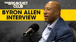 Byron Allen On Economic Inclusion, Buying The Weather Channel, Comcast Racial Bias Lawsuit + More