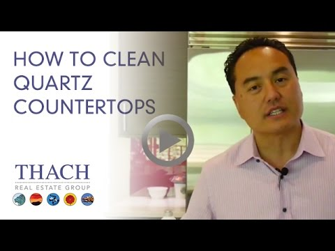 Video How To Clean Quartz Counter Tops - Ask Thach 206-334-8773