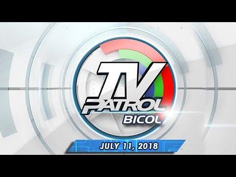 [ABS-CBN]  TV Patrol Bicol – July 11, 2018
