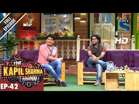 The Kapil Sharma Show - Episode 42–दी कपिल शर्मा शो–Arijit Singh in Kapil's Show–11th September 2016
