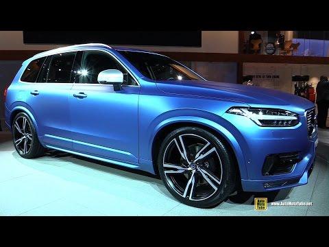 2016 Volvo XC90 T6 AWD R-Design - Exterior and Interior Walkaround - 2015 Detroit Auto Show