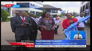 KTN Prime: Kenya dairy Board joins hands with Standard group to sensitize Kenyans on Dairy problems