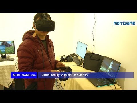 Virtual reality to museum exhibits