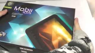 Point Of View 10´´Mobii 1015 Tablet PC Unboxing Deutsch