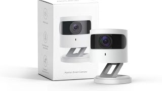 Azarton WiFi Kamera, 1080p HD WLAN IP Kamera Smart Home Innenkamera mit Nachtsicht