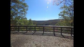 Hiking Raymond B Winter State Park PA