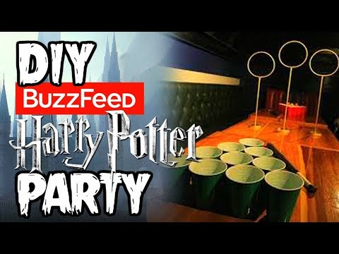 I Tried BUZZFEED's Harry Potter Party (SPOILER ALERT, IT'S AWESOME)