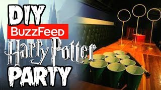 I Tried BUZZFEEDs Harry Potter Party (SPOILER ALERT, ITS AWESOME)