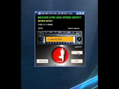 BECKER DTM HIGH SPEED BE7917