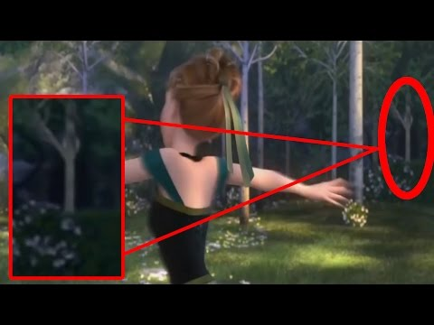 ¿Slenderman En Frozen? ¿Verdad o Falso?
