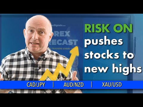 📈 Stocks Reaches New High? Discussing CAD/JPY, XAU/USD and more (Forex Forecast)