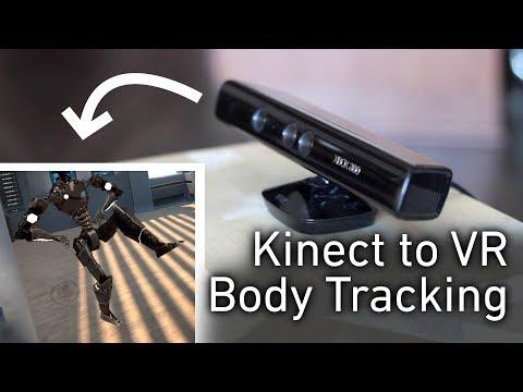 Microsoft Kinect Full-body Tracking - смотреть онлайн на Hah