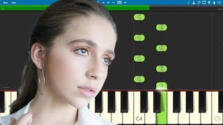 Tate McRae   A Typical Teenage Love Song   Piano Tutorial