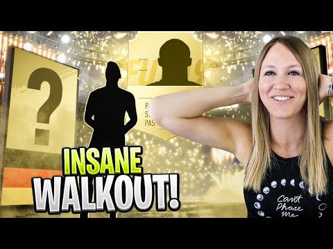 HUGE WALKOUT PACKED!! FIFA 19 ULTIMATE TEAM