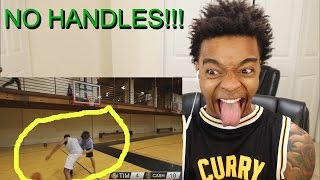 YOU ON CLAMPS!!! 1v1 Basketball AGAINST 14 Year Old Barefoot Kid REACTION & RANT!