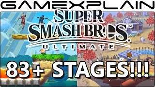 ANOTHER 8 Stages Found in Super Smash Bros. Ultimate! (An INSANE 83+ Total...So Far!) - dooclip.me