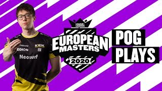 European Masters : les « Pog Plays » des quarts de finale