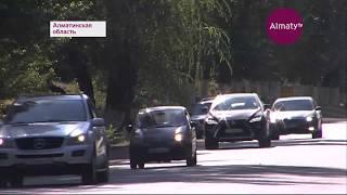 Было 2 полосы, станет 4: автомобильную трассу Алматы - Талгар расширят (03.08.18)