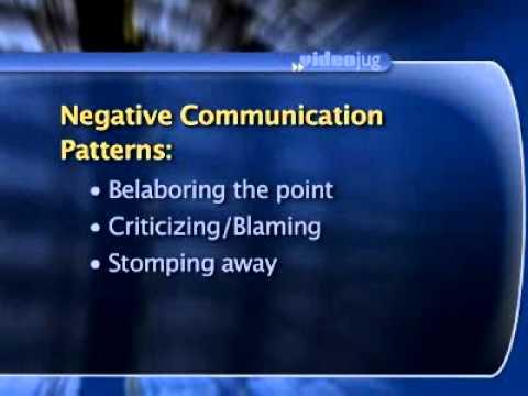 Negative Communication Patterns - DON'T DO THIS! | Dr. Sheri Meyers