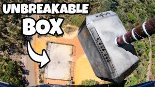 THOR'S HAMMER Vs. UNBREAKABLE BOX from 45m!