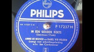 Annie de Reuver en Karel v/d Velden - In een gouden koets